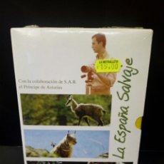 Cine: LA ESPAÑA SALVAJE DVD DOCUMENTAL. Lote 153853462