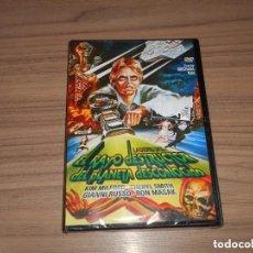 Cine: EL RAYO DESTRUCTOR DEL PLANETA DESCONOCIDO DVD DE MICHAEL RAE KIM MILFORD NUEVA PRECINTADA. Lote 224431445
