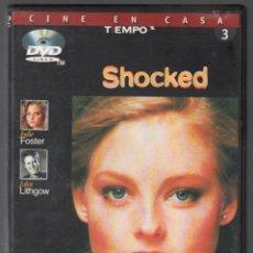 Cine: SHOCKED DVD , / RF-1165. Lote 153904994