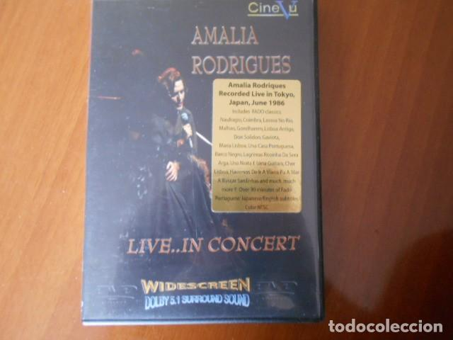 DVD-AMALIA RODRIGUES-LIVE IN CONCERT (Cine - Películas - DVD)
