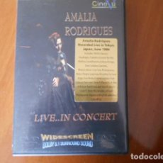 Cine: DVD-AMALIA RODRIGUES-LIVE IN CONCERT. Lote 153946010