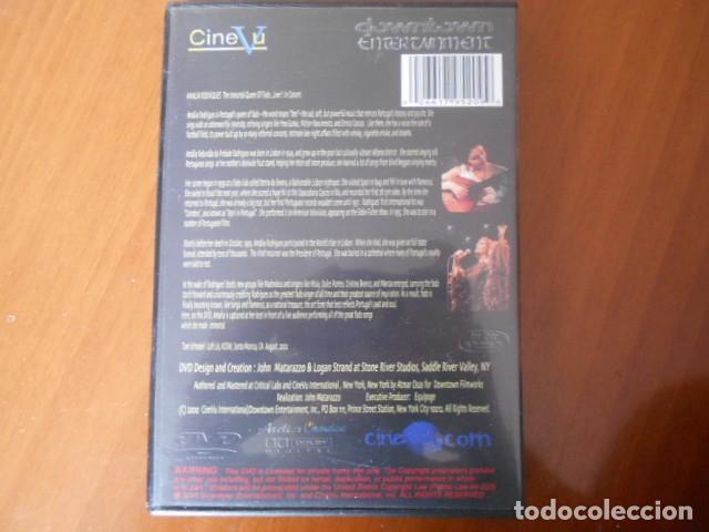 Cine: DVD-AMALIA RODRIGUES-LIVE IN CONCERT - Foto 2 - 153946010