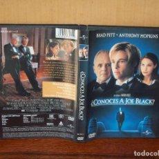 Cine: CONOCES A JOE BLACK - BRAD PITT -ANTHONY HOPKINS - DIRIGIDA POR MARTIN BREST - DVD. Lote 198395000