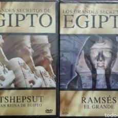 Cine: LOS GRANDES SECRETOS DE EGIPTO PRECINTADAS. Lote 154059369