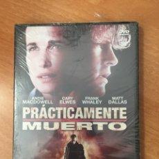 Cine: (B19) PRÁCTICAMENTE MUERTO - DVD NUEVO PRECINTADO. Lote 154097148