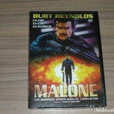 Cine: MALONE DVD BURT REYNOLDS NUEVA PRECINTADA. Lote 155237037