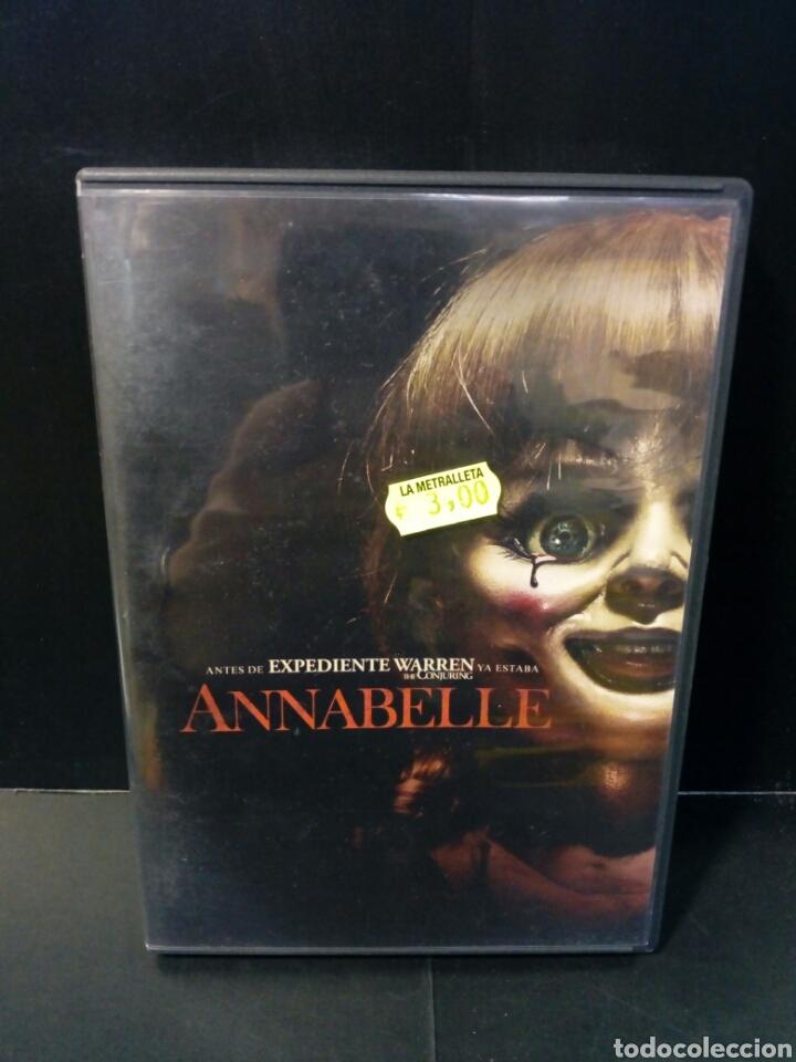 ANNABELLE DVD (Cine - Películas - DVD)