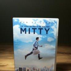 Cine: LA VIDA SECRETA DE WALTER MITTY DVD 2013 ¡¡ COMO NUEVA !! COMEDIA-AVENTURAS 114' BEN STILLER. Lote 146941082