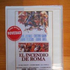 Cine: DVD EL INCENDIO DE ROMA - LANG JEFFRIES - CRISTINA GAIONI - NUEVA, PRECINTADA (AY). Lote 154259890