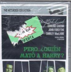 Cine: PERO... ¿QUIÉN MATÓ A HARRY?, ALFRED HITCHCOCK. NUEVA PRECINTADA. Lote 154264758