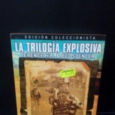 Cine: LA TRILOGÍA EXPLOSIVA-TERENCE HILL & BUD SPENCER DVD. Lote 154267421
