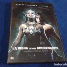 Cine: DVD ( LA REINA DE LOS CONDENADOS ) 2002 WARNER LA MADRE DE TODOS LOS VAMPIROS. Lote 154303262