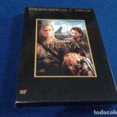 Cine: DVD EDICION ESPECIAL 2 DISCOS ( TROYA ) 2004 WARNER BRAD PITT - ERIC BANA ORLANDO BLOOM . Lote 154304542