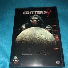 Cine: CRITTERS 4 DVD DESCATALOGADO. Lote 154332054