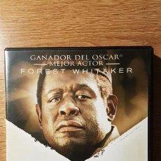 Cine: DVD EL ÚLTIMO REY DE ESCOCIA. FOREST WHITAKER. Lote 154368718