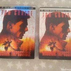 Cinema: DVD. MISIÓN IMPOSIBLE. ED. ESPECIAL COLECCIONISTA. 2 DVDS.. Lote 154372249