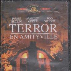 Cine: TERROR EN AMITYVILLE (1979) - DVD PRECINTADO. Lote 154398162