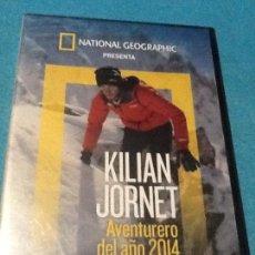 Cine: KILIAN JORNET AVENTURERO DEL AÑO 2014 DVD NATIONAL GEOGRAPHIC. Lote 154459762