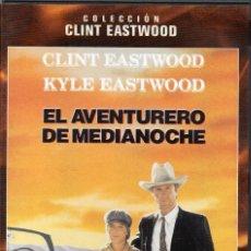Cine: EL AVENTURERO DE MEDIANOCHE. DVD. CLINT EASTWOOD. Lote 154513450