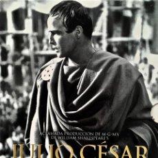 Cine: DVD. JULIO CESAR. JOSEPH MANKIEWICZ & MARLON BRANDO. EDICION COLECCIONISTA CON EXTRAS.. Lote 154536370