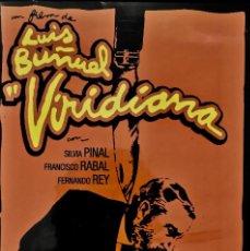 Cine: DVD. VIRIDIANA. LUIS BUÑUEL. FERNANDO REY. SILVIA PINAL. FRANCISCO RABAL. . Lote 154543994