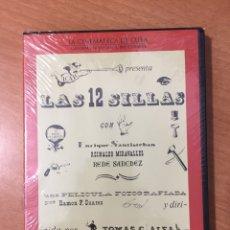 Cine: (B30) LAS 12 SILLAS - DVD NUEVO PRECINTADO. Lote 154606632