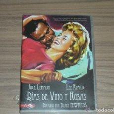 Cine: DIAS DE VINO Y ROSAS DVD JACK LEMMON LEE REMICK NUEVA PRECINTADA. Lote 278678153