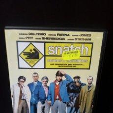 Cine: SNATCH CERDOS Y DIAMANTES DVD. Lote 171347137