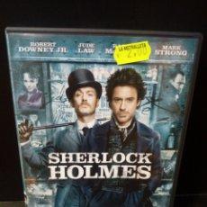 Cine: SHERLOCK HOLMES DVD. Lote 154629220
