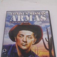Cine: PELÍCULA DVD CON SUS MISMAS ARMAS. Lote 154633748