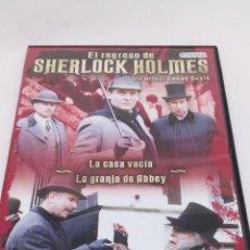 Cine: 2PELICULAS DVD SHERLOCK HOLMES. Lote 154683052