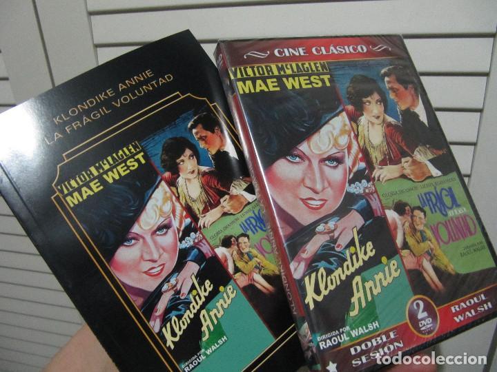 Cine: KLONDIKE LA FRAGIL VOLUNTAD 2 DVDS+LIBRETO-LOS IMPRESCINDIBLES EDICION COLECCIONISTA - Foto 6 - 154735262