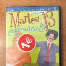Cine: (B36) MARTES Y 13 DIGAMELÓN - DVD NUEVO PRECINTADO. Lote 154751468