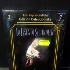 Cine: LA LISTA DE SCHINDLER DVD. Lote 171346544