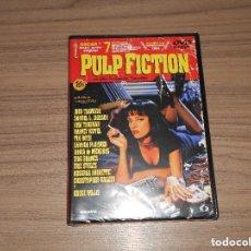 Cine: PULP FICTION EDICION ESPECIAL LAUREN FILMS DVD MULTITUD DE EXTRAS TARANTINO NUEVA PRECINTADA. Lote 154771934