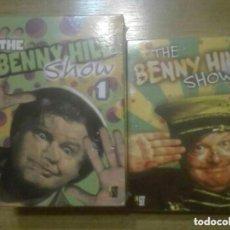 Cine: THE BENNY HILL SHOW VOLUMEN 1 Y 2 TOTAL 10 DVDS DESCATALOGADOS. Lote 154845634