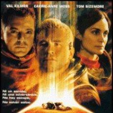Cine: PLANETA ROJO DIRECTOR: ANTONY HOFFMAN ACTORES: VAL KILMER, CARRIE ANNE MOSS, TOM SIZEMORE. Lote 154848934