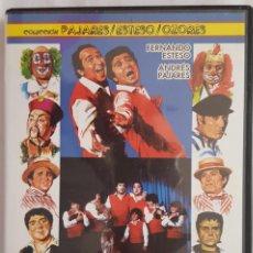 Cine: DVD CINE / PADRE NO HAY MAS QUE DOS / COLECCIÓN PAJARES - ESTESO - OZORES. Lote 154868042