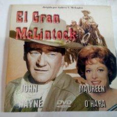 Cine: DVD DEL OESTE EL GRAN MCLINTOCK. Lote 155127406