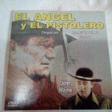 Cine: DVD DEL OESTE EL ANGEL Y EL PISTOLERO. Lote 155127558