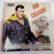 Cine: DVD DEL OESTE RÍO GRANDE. Lote 155127702