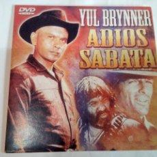 Cine: DVD DEL OESTE ADIÓS SABATA. Lote 155127870