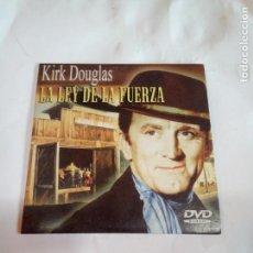 Cine: DVD DEL OESTE LA LEY DE LA FUERZA. Lote 155128550