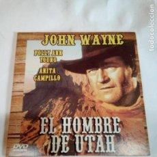 Cine: DVD DEL OESTE EL HOMBRE DE UTAH. Lote 155128682