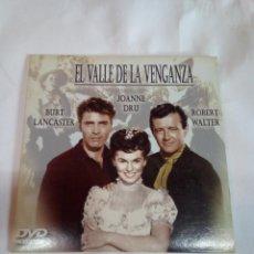 Cine: DVD DEL OESTE EL VALLE DE LA VENGANZA. Lote 155129494