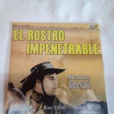 Cine: DVD DEL OESTE EL ROSTRO IMPENETRABLE. Lote 155129682