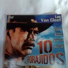 Cine: DVD DEL OESTE 10 FORAJIDOS. Lote 155131802