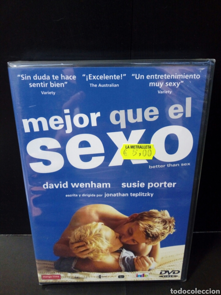 MEJOR QUE EL SEXO DVD (Cine - Películas - DVD)