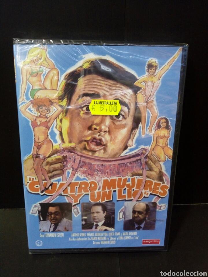 CUATRO MUJERES Y UN LÍO DVD (Cine - Películas - DVD)