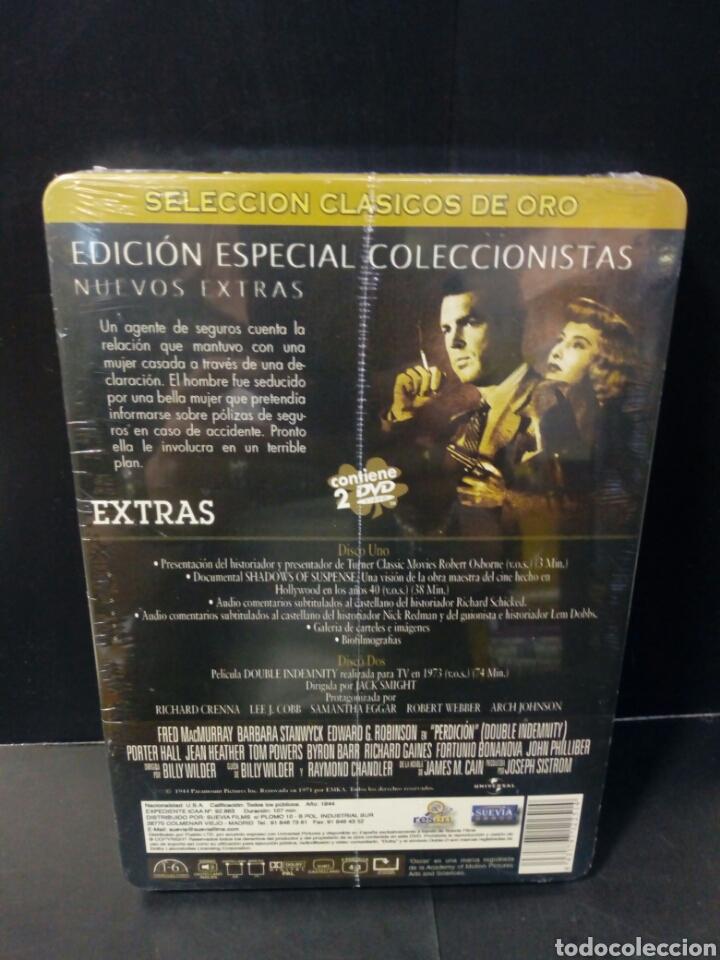 Cine: Perdición DVD caja metálica - Foto 2 - 155152760